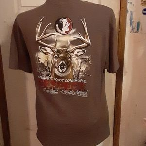 Atlantic coast conference Noles football tee XL